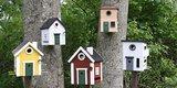 Wildlife Garden Red Cottage vogelhuis