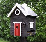 Wildlife Garden Svart Hus Plus vogelhuis