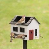 Wildlife Garden vogelvoederhuis met bad grijs