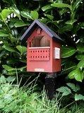 Wildlife Garden Balkongholk rood nestkastje