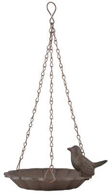 Esschert Design hangend vogelbad met 1 vogel