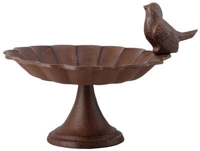 Esschert Design vogelbad op voet gietijzer