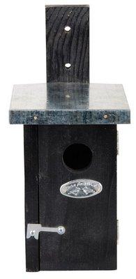 Esschert Design nestkast winterkoning zwart