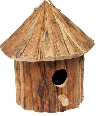 Lifetime Garden vogelhuis hout met rond dak