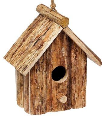 Lifetime Garden vogelhuis hout donkerbruin