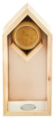 Esschert Design pindakaas/voederhuis wit