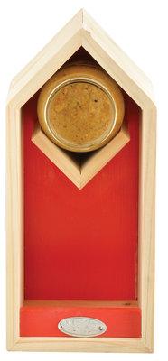 Esschert Design pindakaas/voederhuis rood