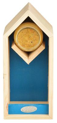 Esschert Design pindakaas/voederhuis blauw