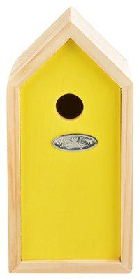 Esschert Design nestkast pimpelmees geel