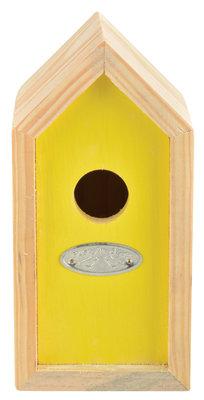 Esschert Design nestkast winterkoning geel