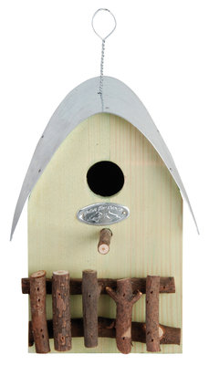 Esschert Design nestkast huisje groen
