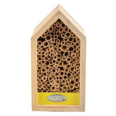 Esschert Design bijenhuis geel