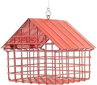 Wildlife Garden rood hangend voederhuis