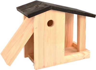 Esschert Design koolmees nestkast en voedertafel