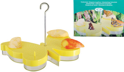 Esschert Design vlinder voederschaal