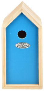 Esschert Design nestkast pimpelmees blauw