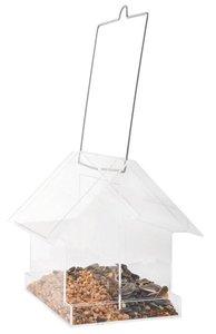 Esschert Design acryl hangende combivoedersilo huis