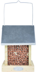 Esschert Design Combi pinda en zaad silo hout