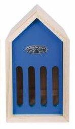 Esschert Design vlinderkast blauw