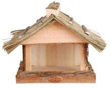 Esschert Design muurvoedertafel rieten dak
